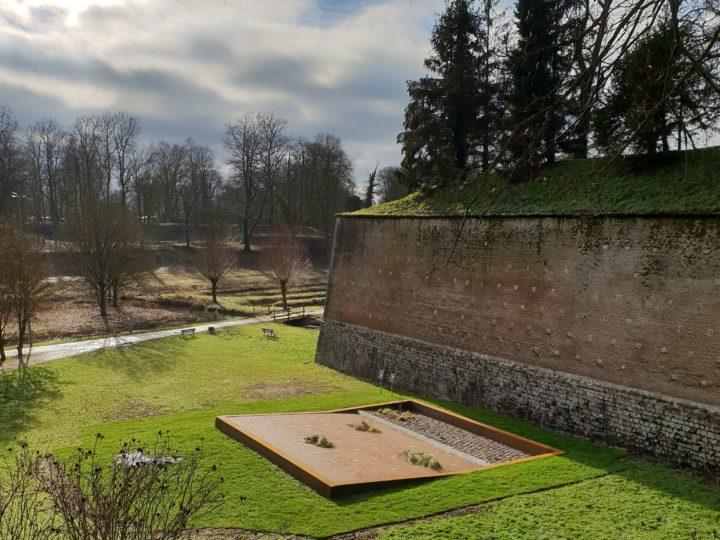 Jardin de la Paix belge > À l'assaut du rempart, 2018