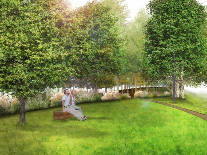 Jardin tchèque et slovaque (conception en cours)