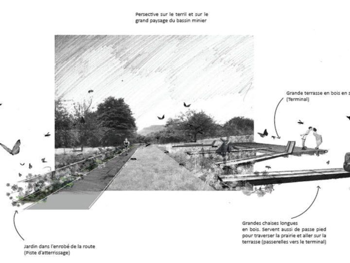 L'Aéroport-jardin d'atterissage > Wagon Landscaping, 2020