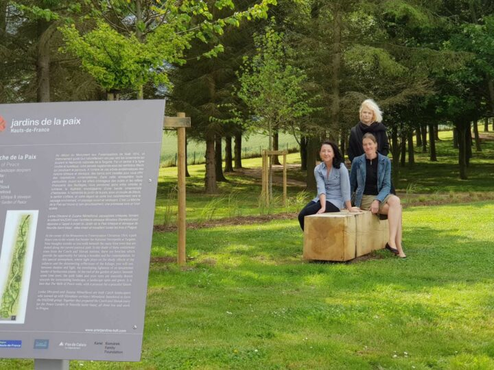 La Marche de la Paix > Jardin de la Paix tchèque & slovaque, 2019